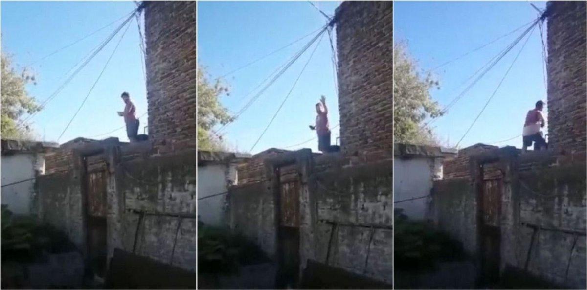 VIDEO Detuvieron a un hombre que amenazaba a vecinos y mostraba sus partes íntimas